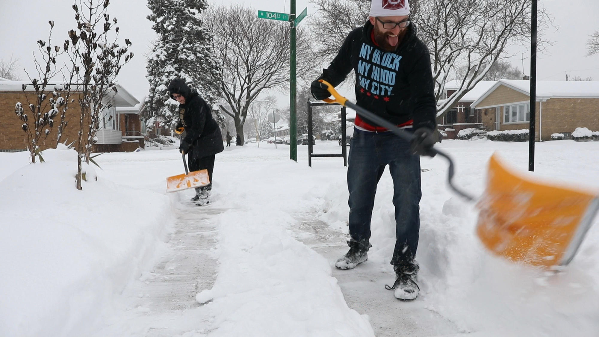 Last Measurable Snow In Chicago