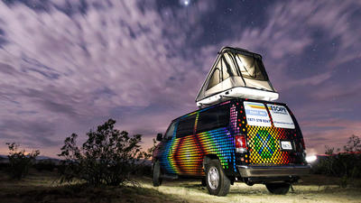 The ever-growing popularity of #vanlife traveling