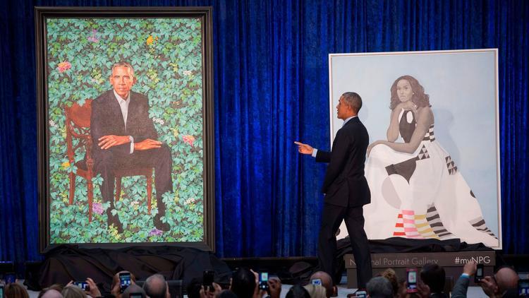 Obama portraits