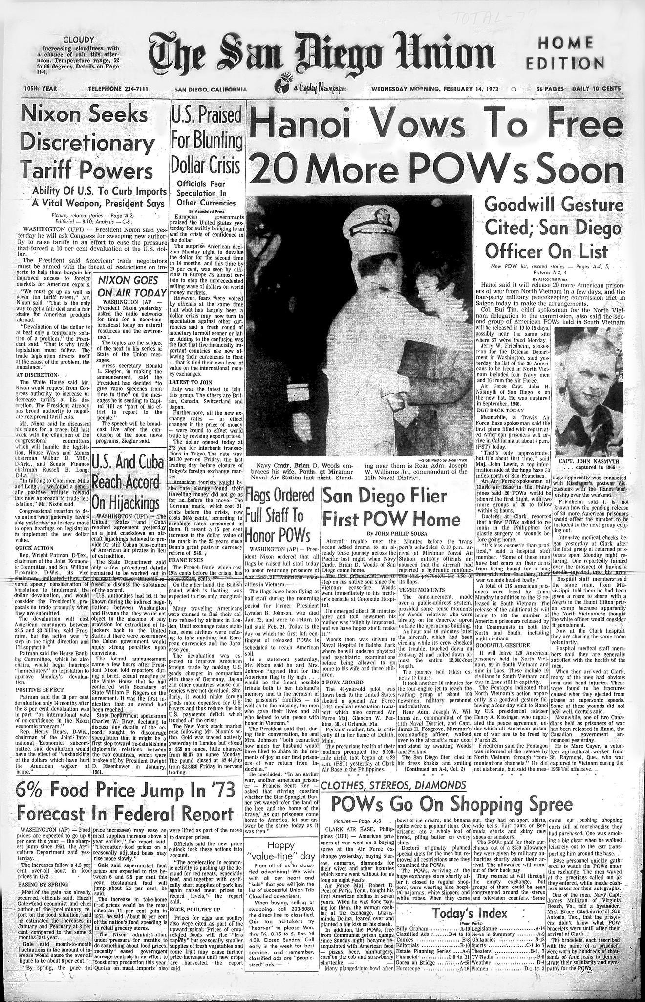 February 14, 1973