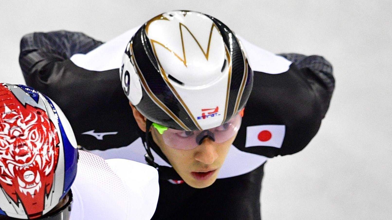Short-track speedskater Kei Saito suspended in 1st Winter ...