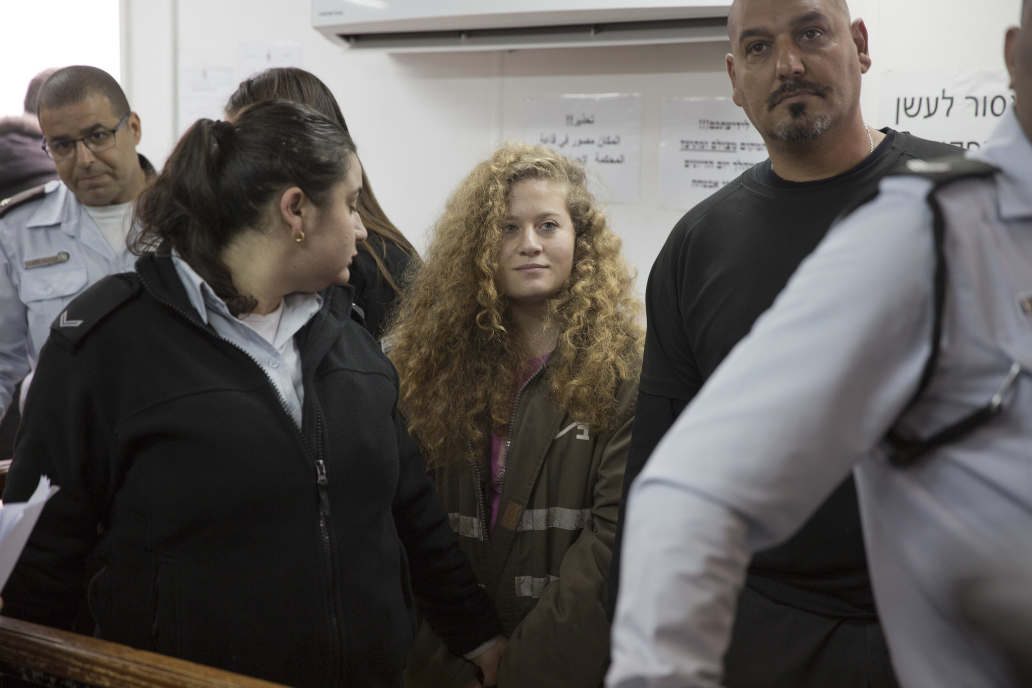 Israeli army court closes doors on closely watched trial of Ahed Tamimi, Palestinian teen who slapped and punched soldiers