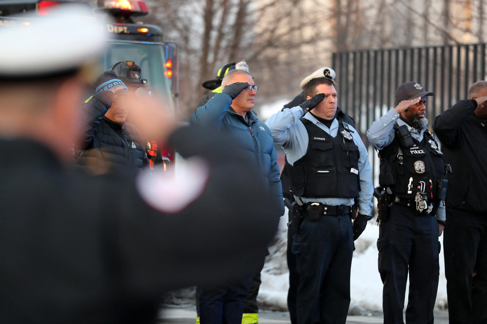 Police commander is killed in a city of pain