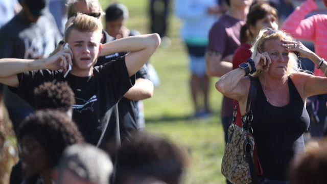 Shooter reported, people reported shot at Marjory Stoneman Douglas High School in Parkland
