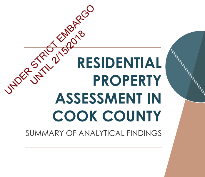 Read: Study finds Cook County property tax system punished poorer homeowners