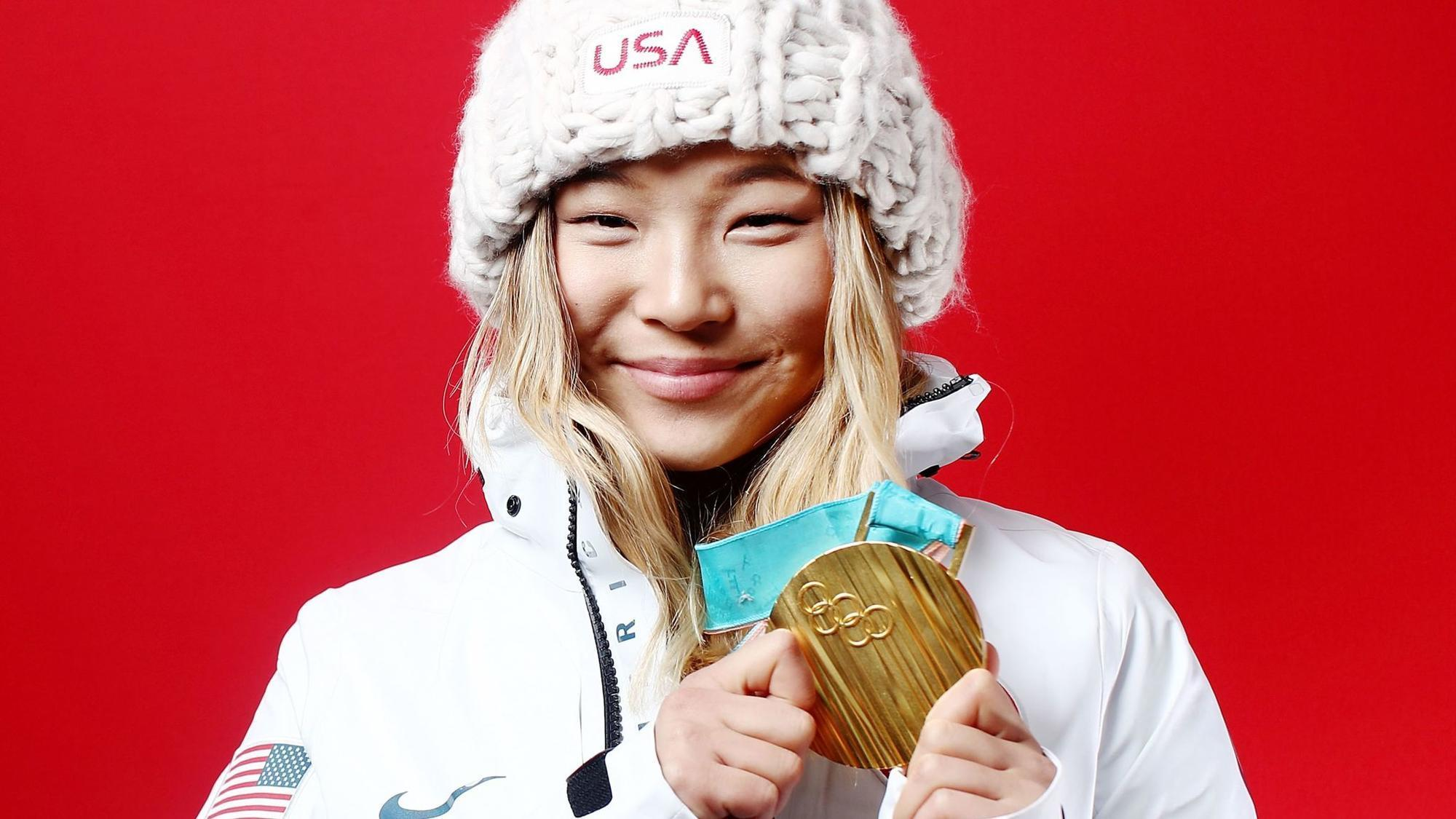 Snowboarder Chloe Kim Tweeted About Breakfast Sandwiches Between Her Olympic Gold Medal Runs