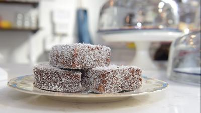 Making Lord Lamington proud: Easton restaurant serves delicious Australian dessert called lamingtons
