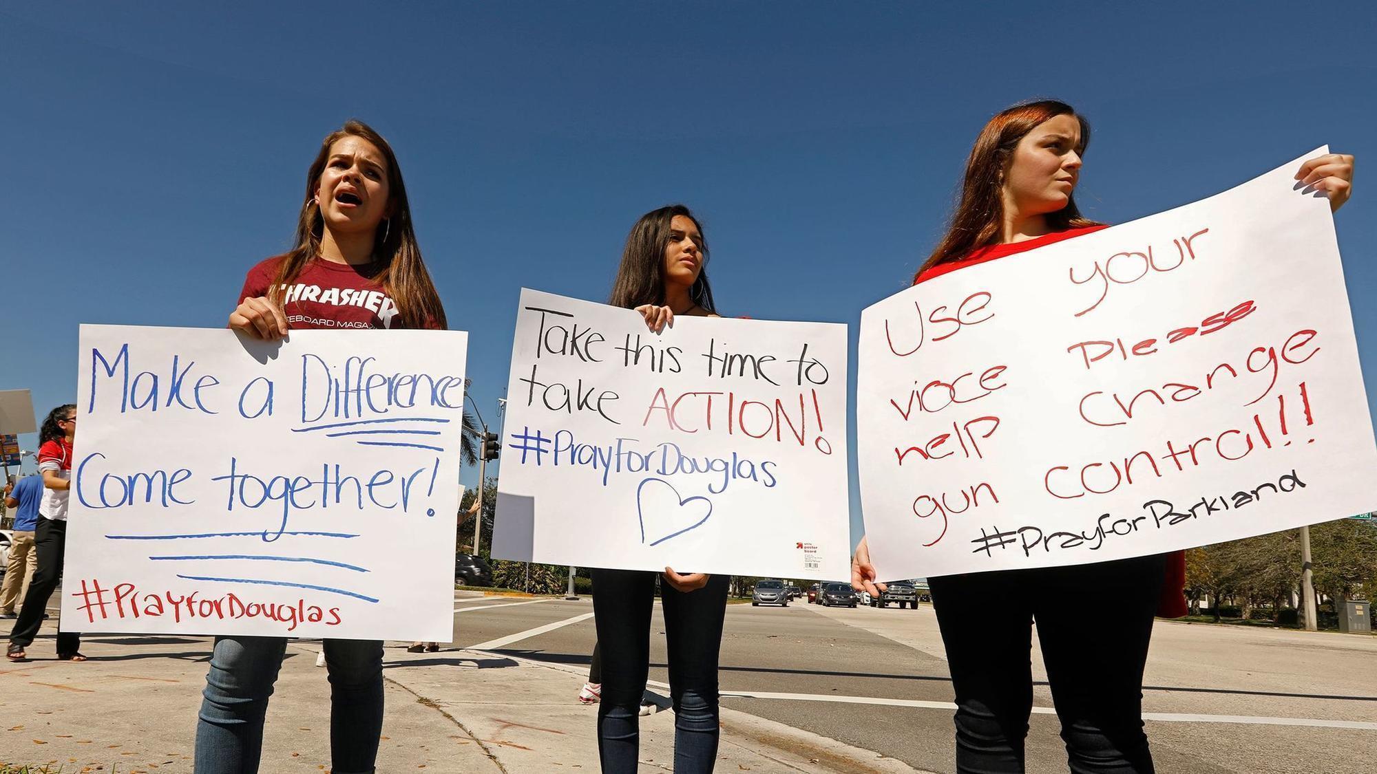 Florida School Shooting Survivors Become Advocates For