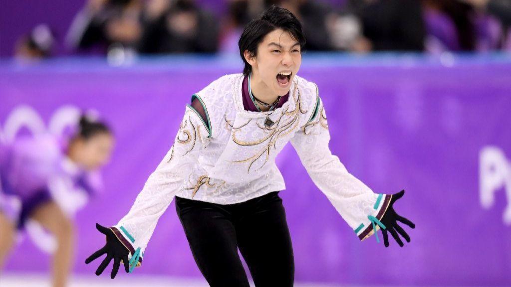 Golden roar: Japan's Yuzuru Hanyu displays mastery in defense of his Olympic title
