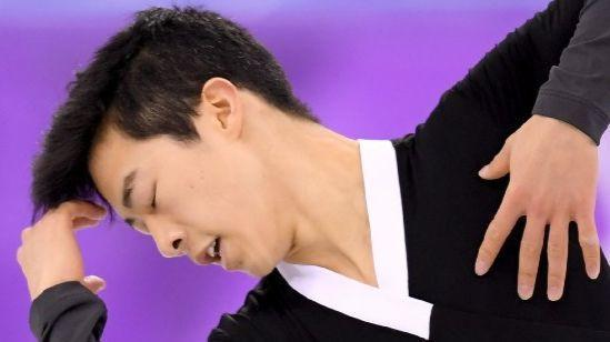 An angry Nathan Chen makes history with five clean quads, but comes just short of an Olympic medal