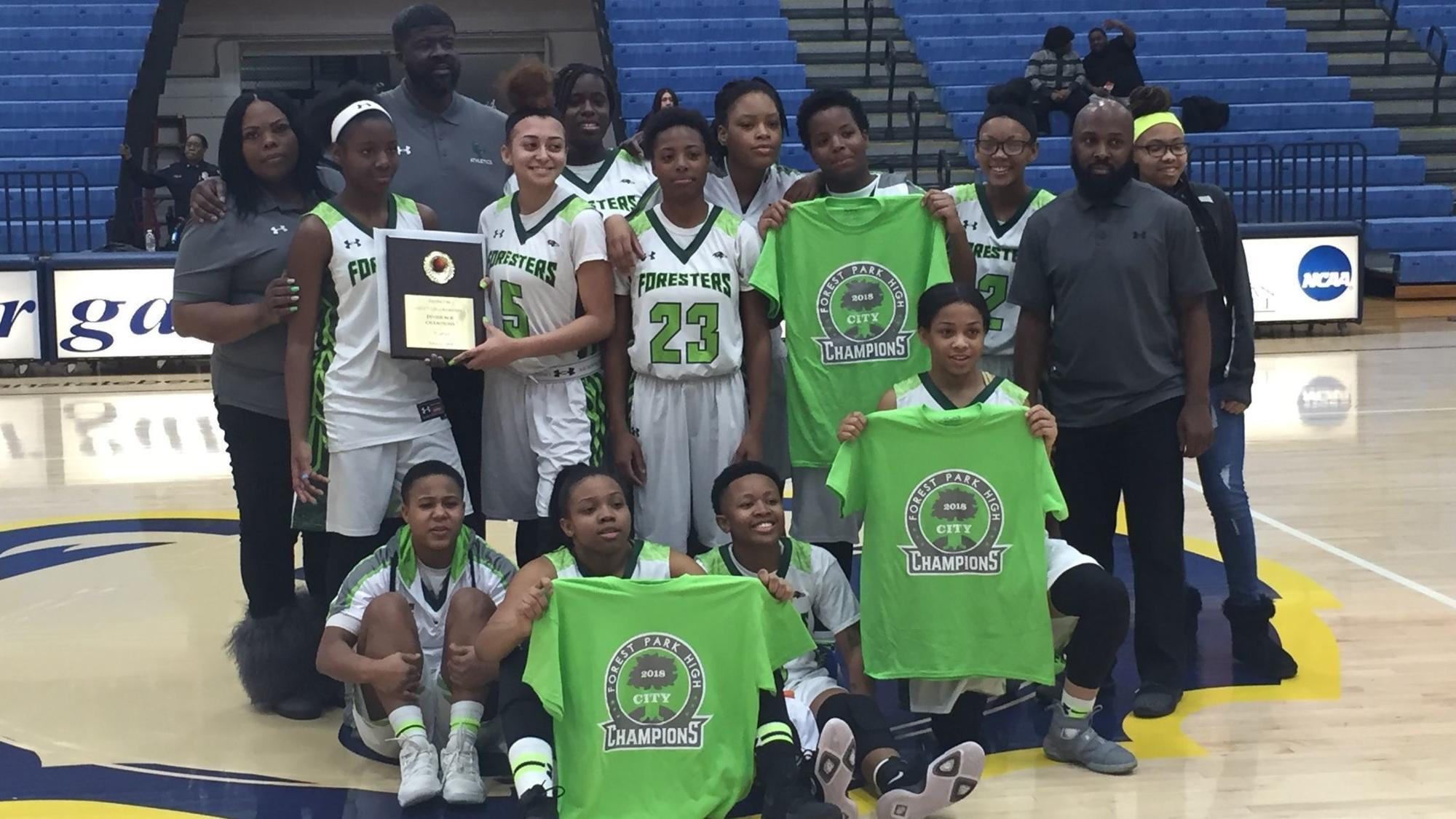 forest park wins fourth straight baltimore city division