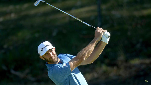Bubba Watson leads at Riviera, with Dustin Johnson (64) coming on strong