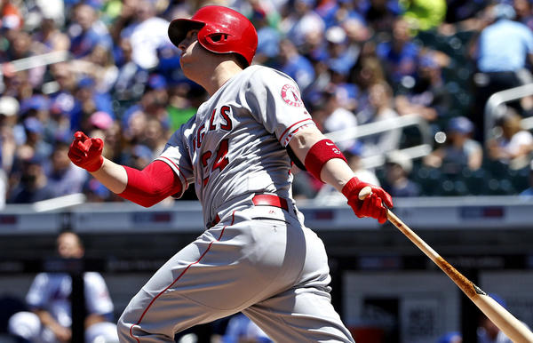 Angels trade C.J. Cron to the Rays for a player to be named later