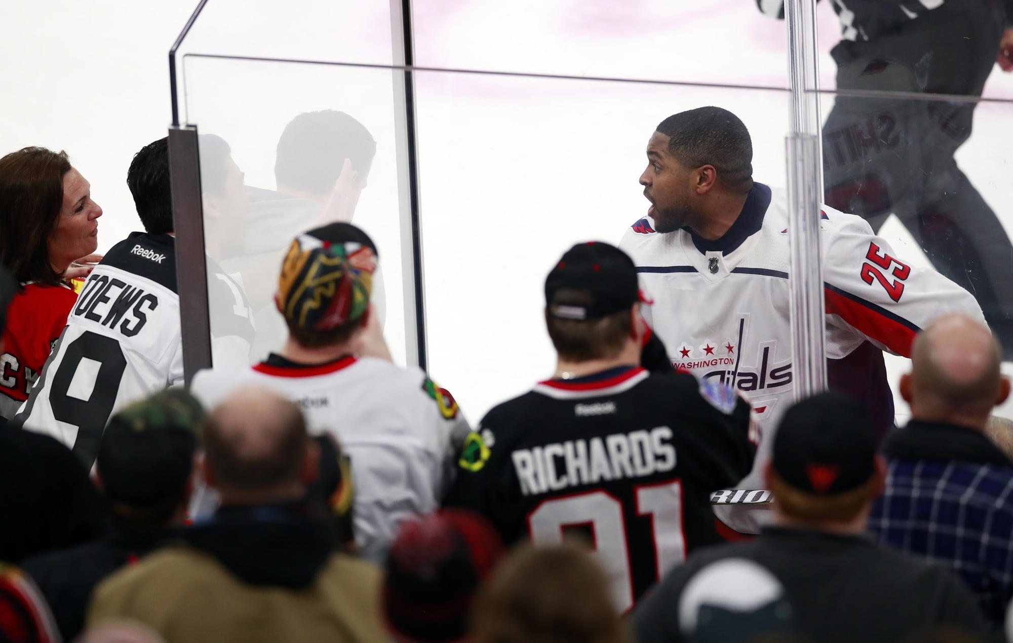 Ban the racist jerks who embarrassed the Blackhawks and Chicago from all future sporting events