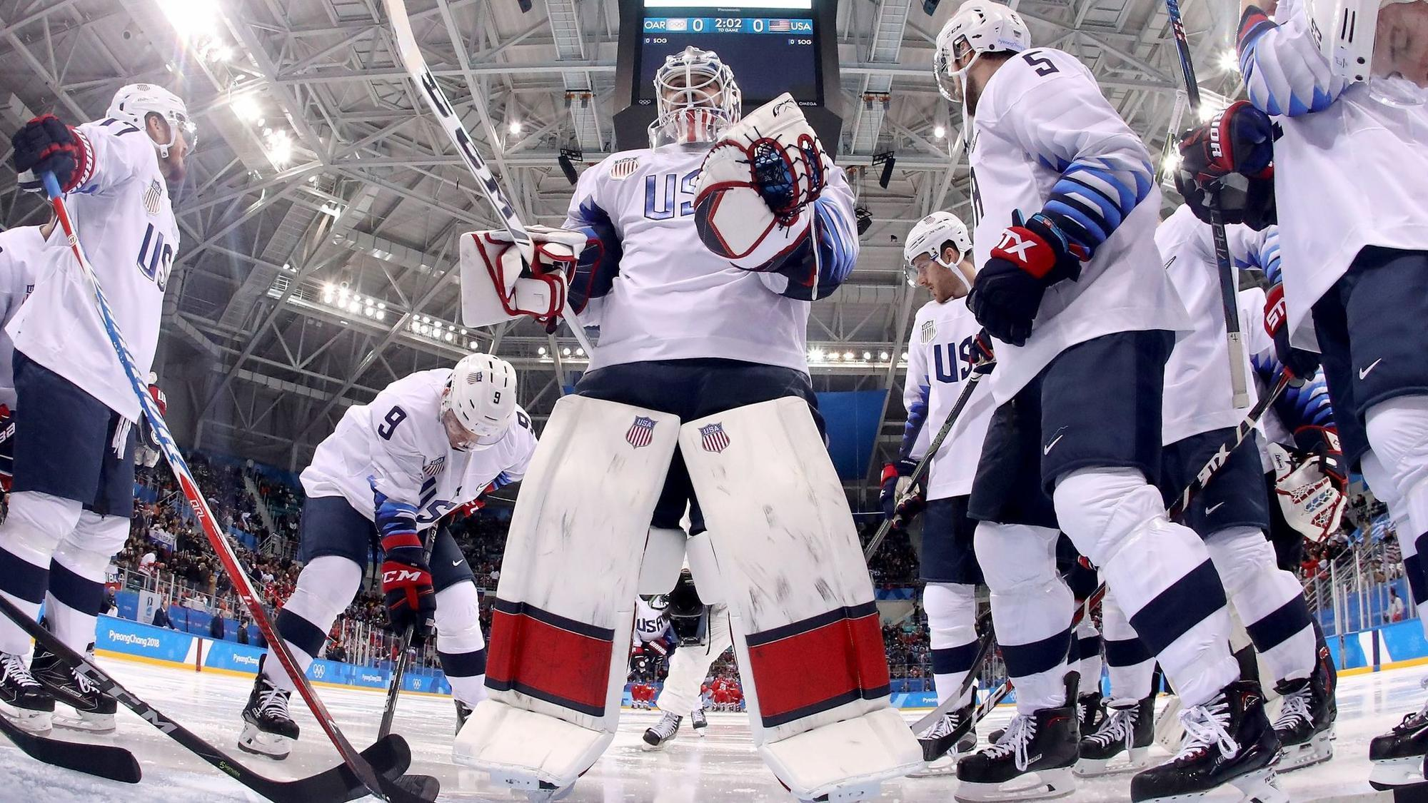 U.S. to play Slovakia in Olympic hockey qualification playoff