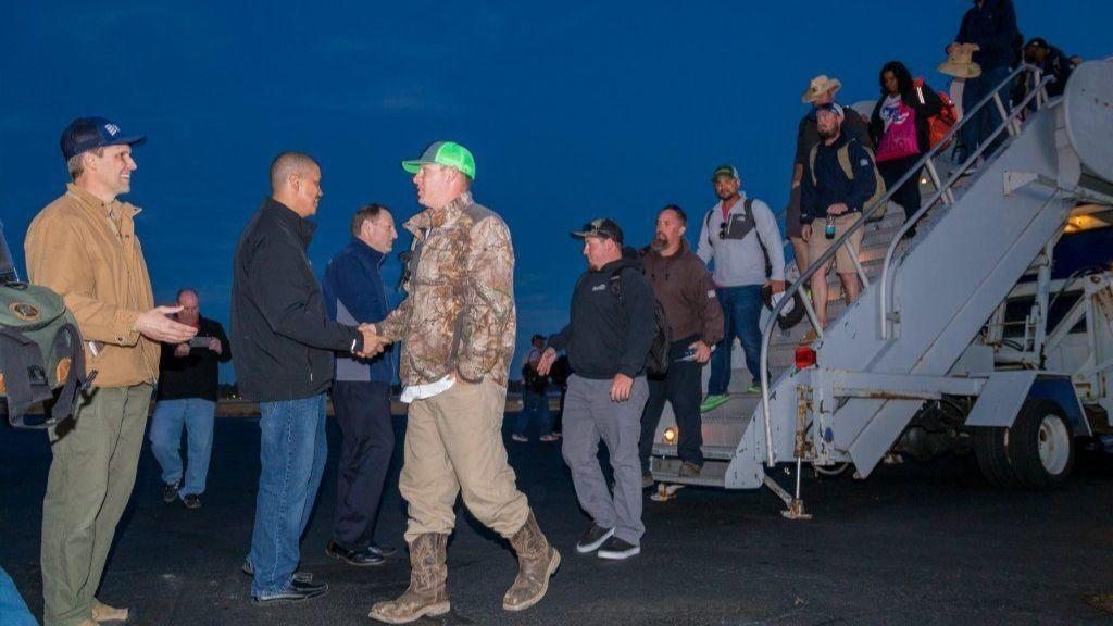 Dominion energy crews return after restoring power in for Domon power release