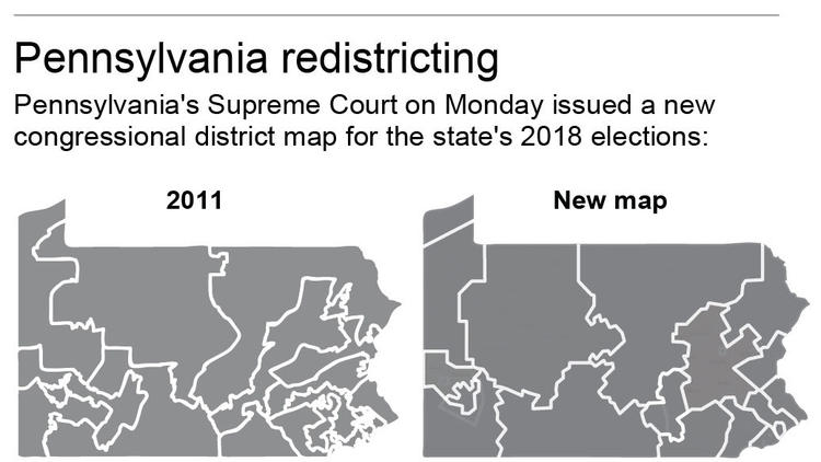 Pennsylvania congressional map