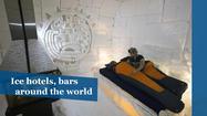 Igloo hotels and ice bars around the world