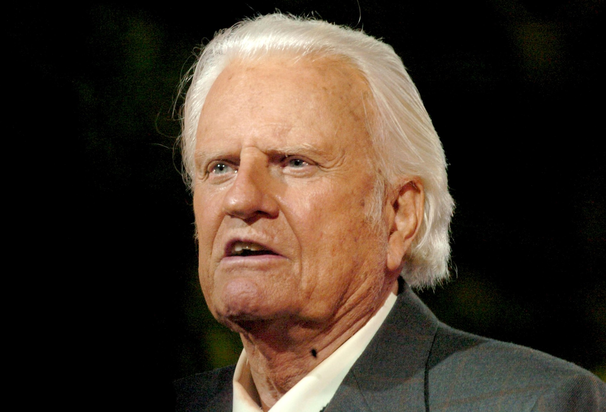 Billy graham death date in Melbourne