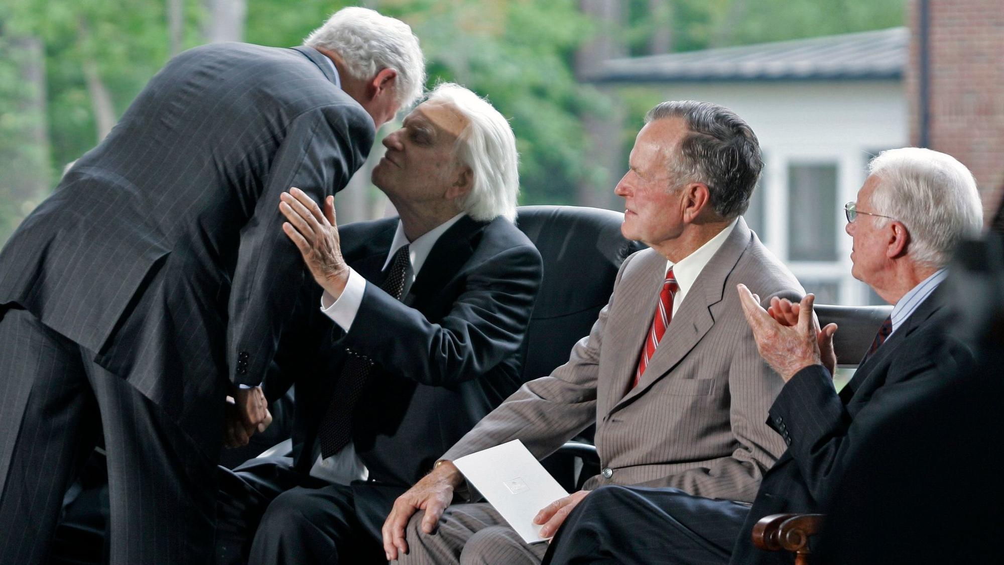 Billy Graham dies: Presidents, pastors and celebrities ...