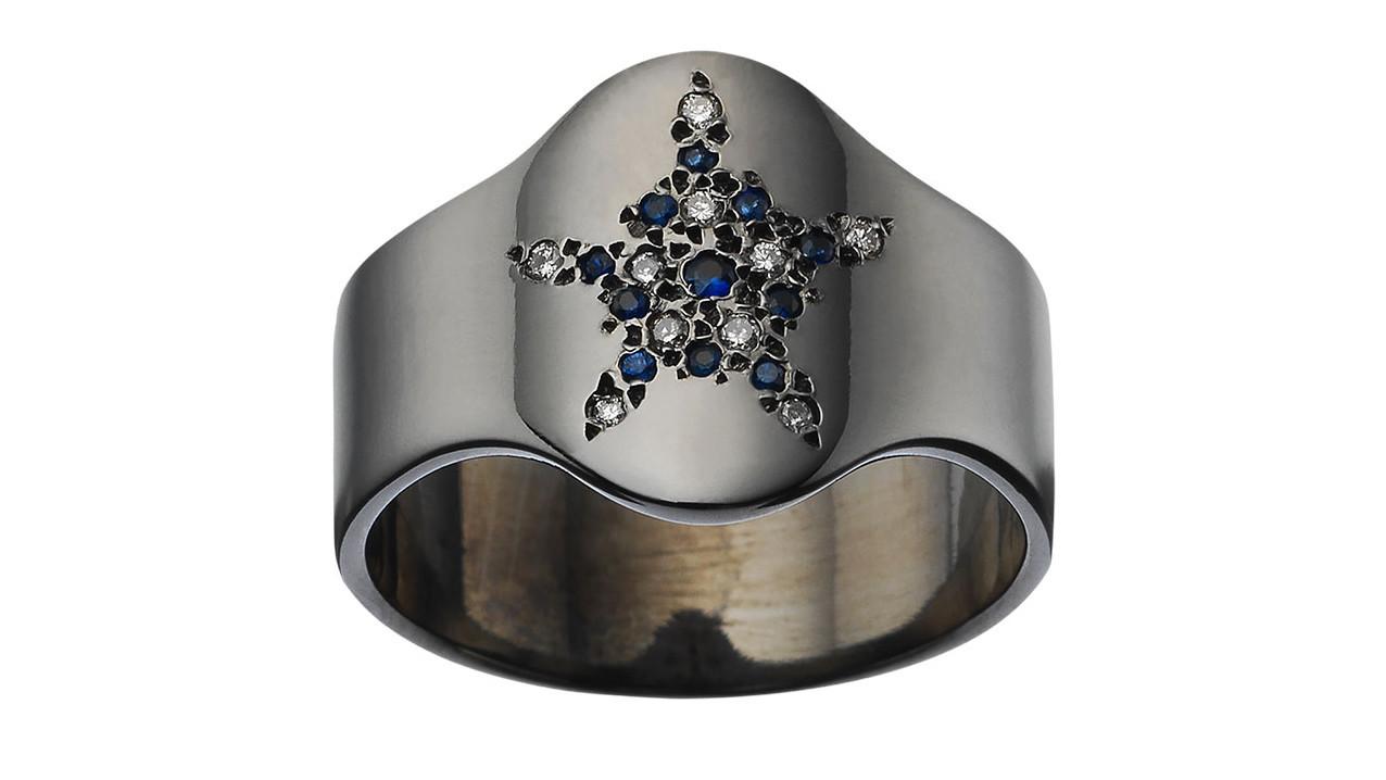 Designer: Carolina Bucci Photo credit: Carolina Bucci Designer Carolina Bucci's signet ring inspi