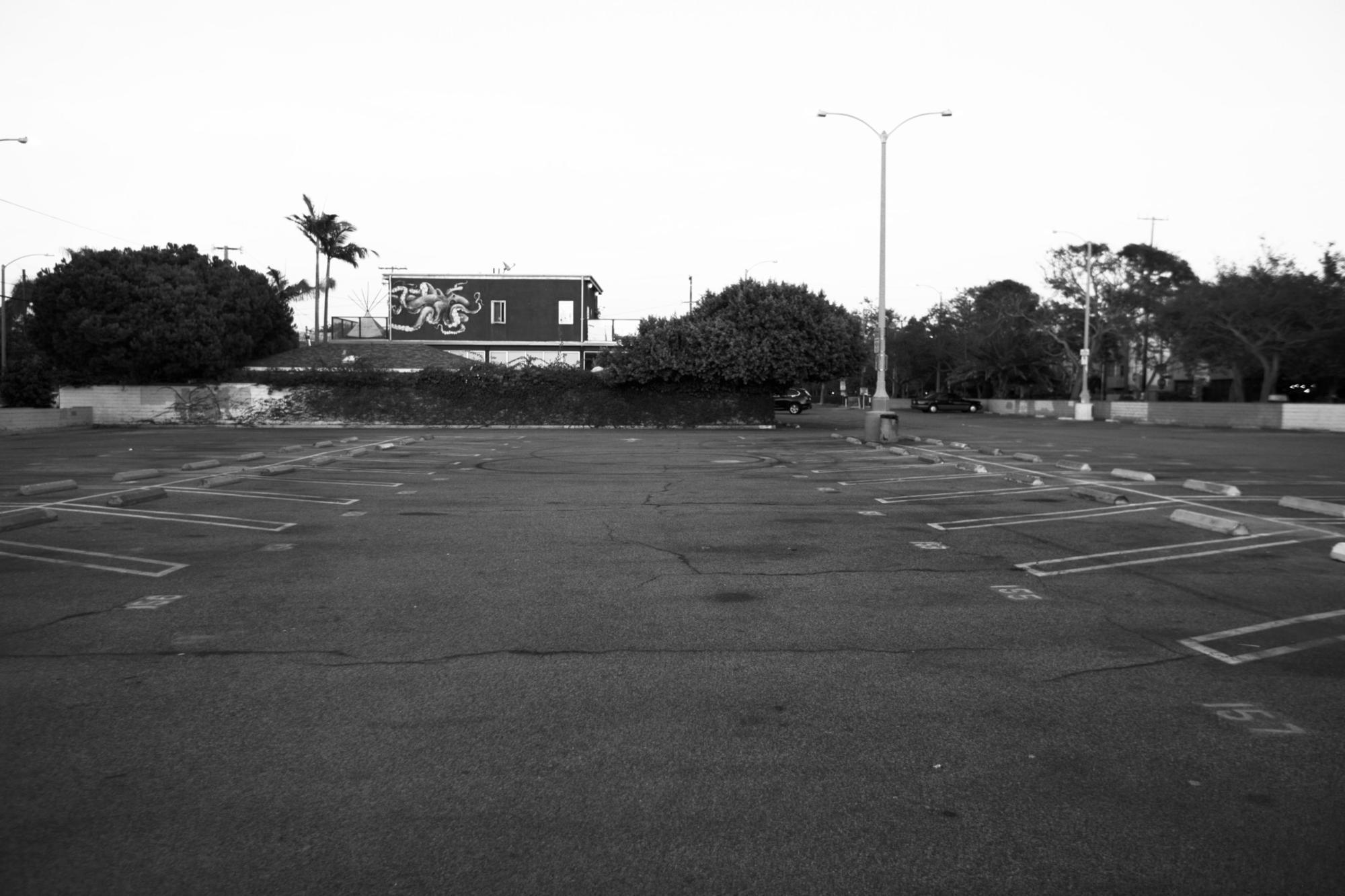 Venice parking lot