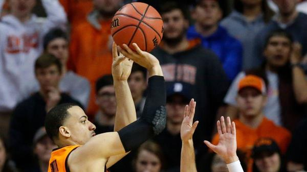 College basketball roundup: Kendall Smith's 21 points help Oklahoma State upset No. 6 Texas Tech