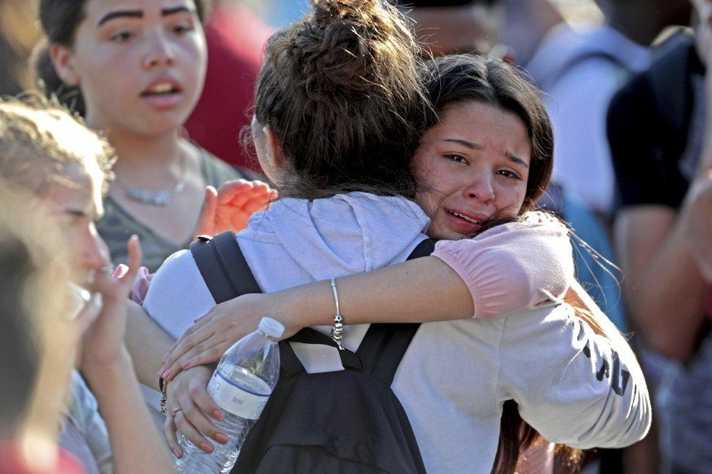 Shooting at Marjory Stoneman Douglas High School in Parkland, Fla.