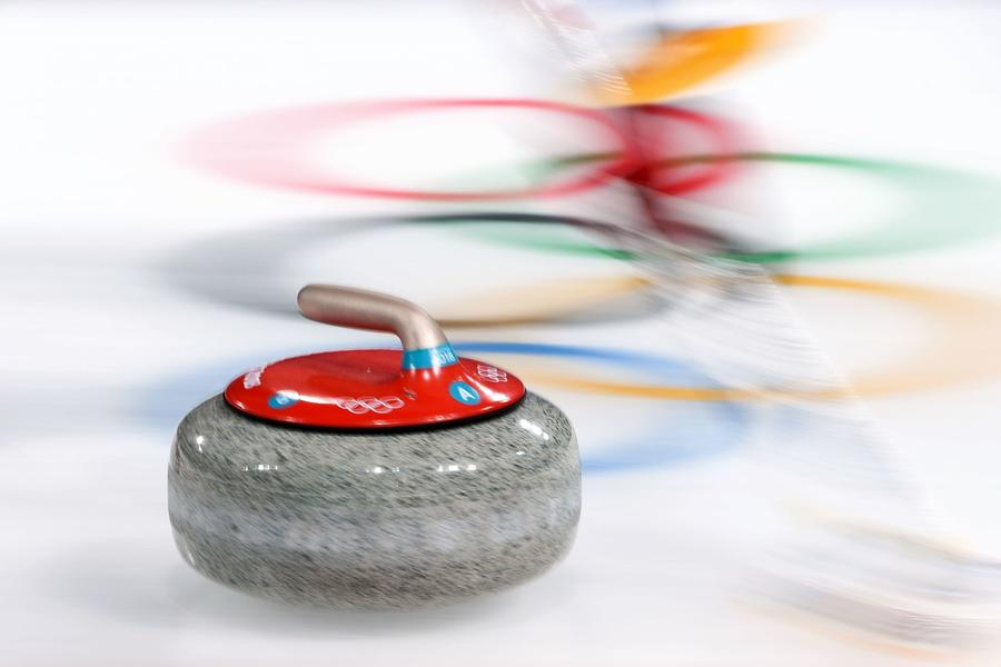 The U.S. men will go for a gold medal in curling later today. (WANG ZHAO)
