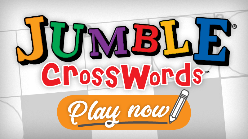 image relating to Printable Jumble Puzzles named Every day Jumble Crossword - The Early morning Get in touch with