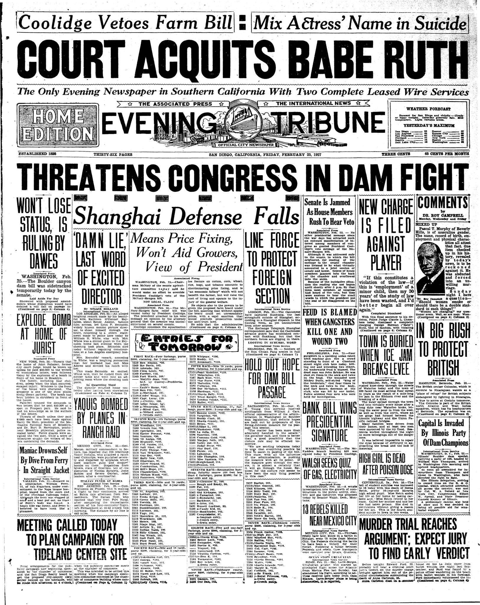 February 25, 1927