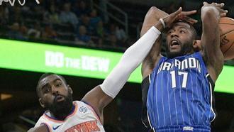 Magic lose to Knicks 120-113 despite return of Gordon and Vucevic