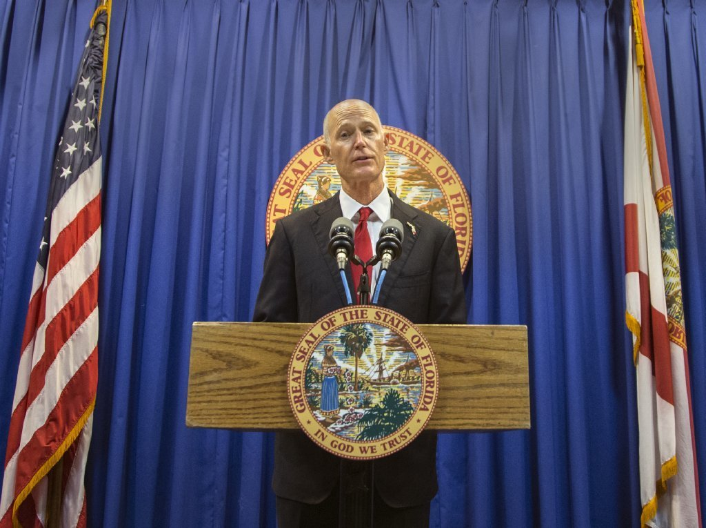 Florida governor: Ban gun sales to those under 21 years old, station officers in schools