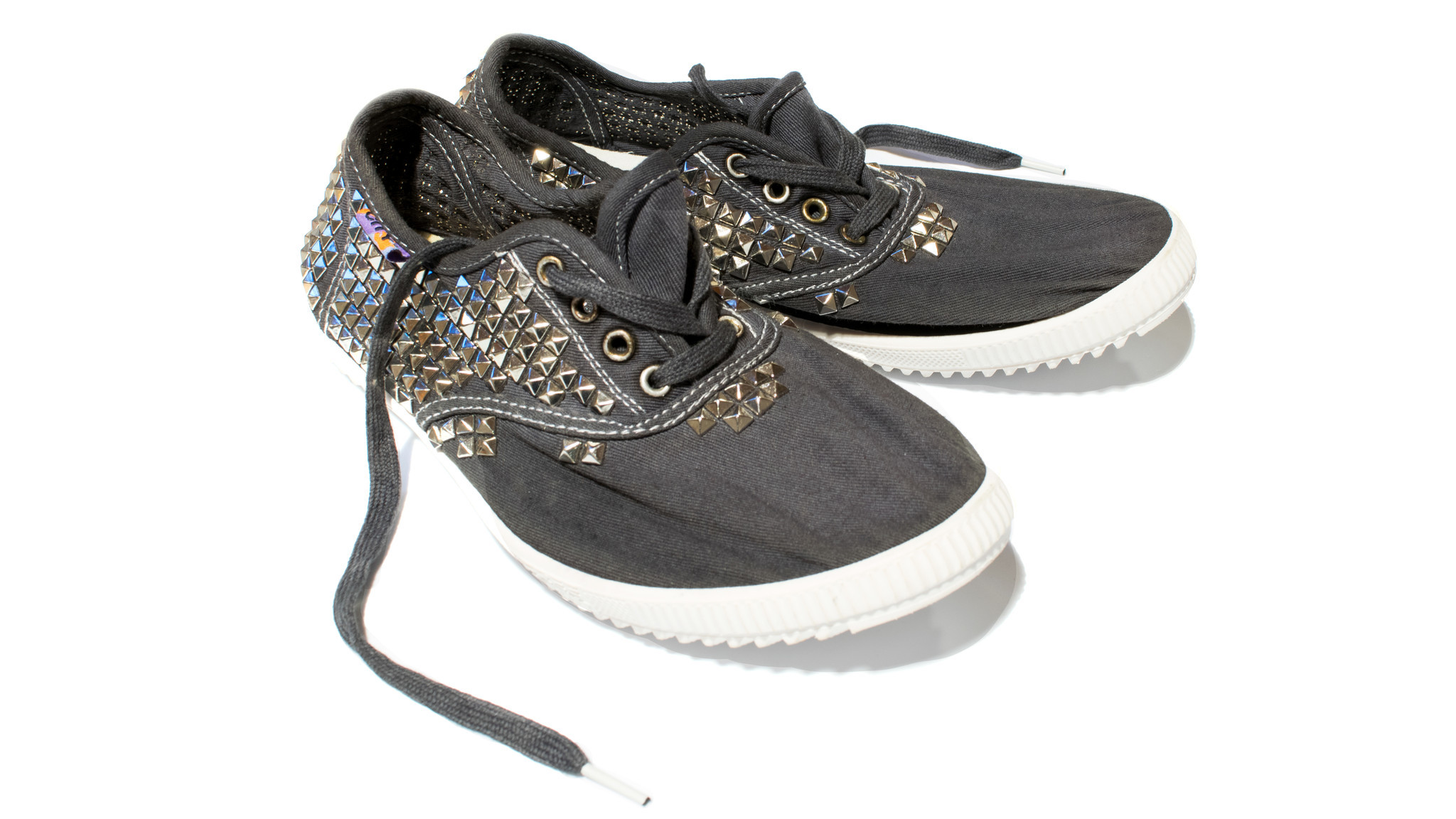 Free City Supercolor studded sneaker in magical poets grey