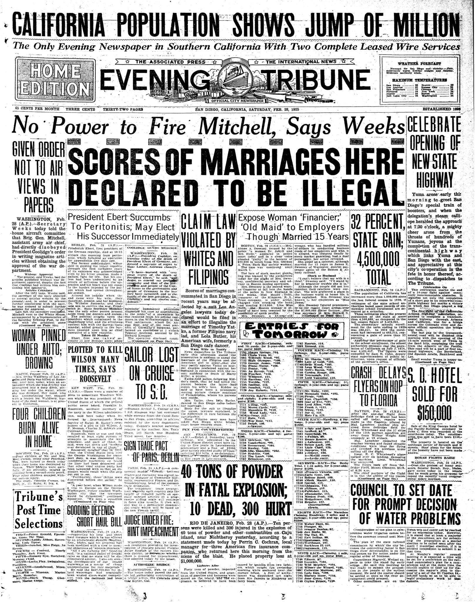 February 28, 1925