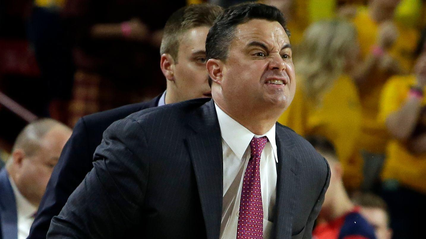 Arizonas Sean Miller Wont Coach Against Oregon Following Wiretap Report Chicago Tribune