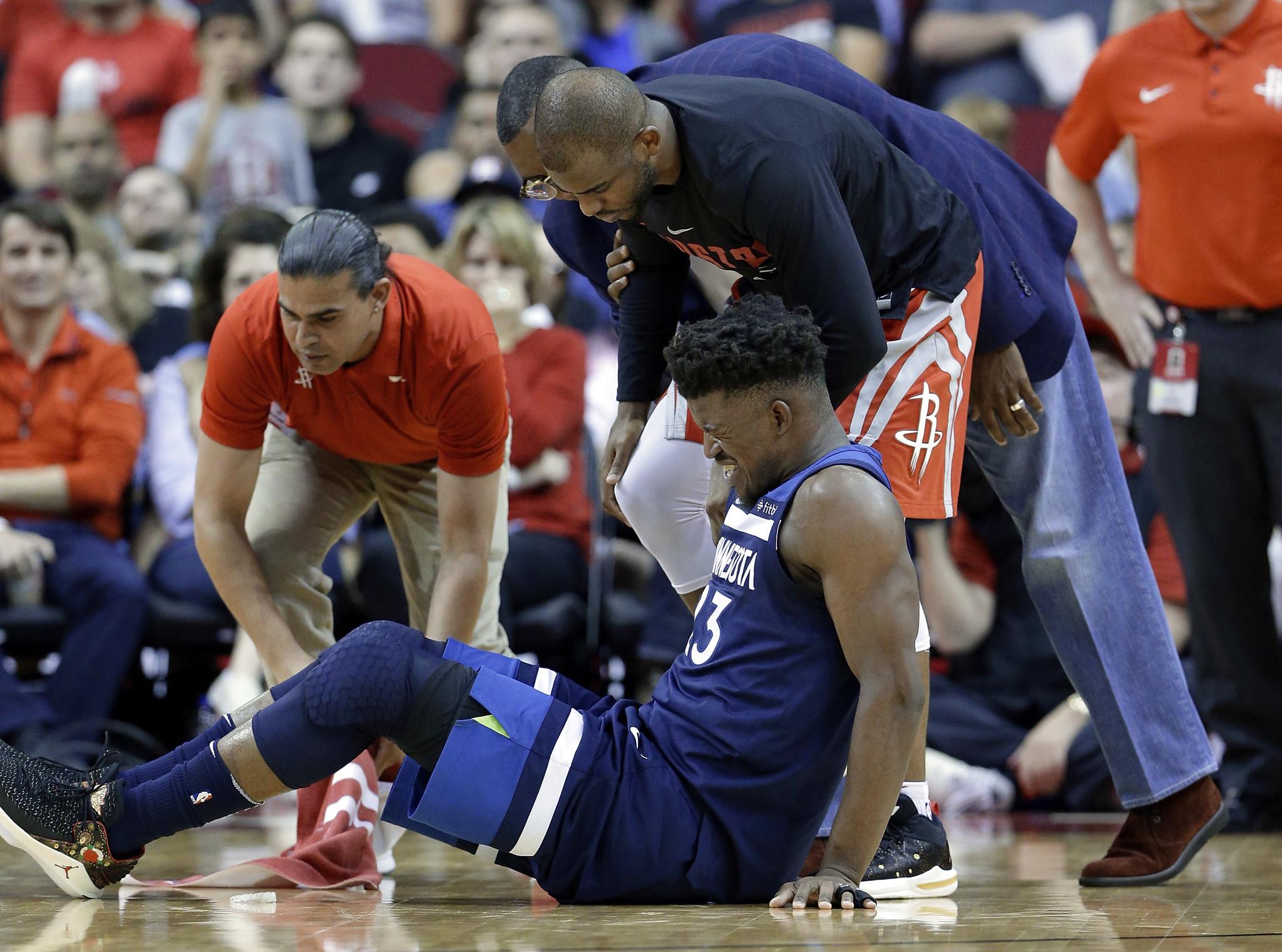 Timberwolves' Jimmy Butler has cartilage injury to knee ...