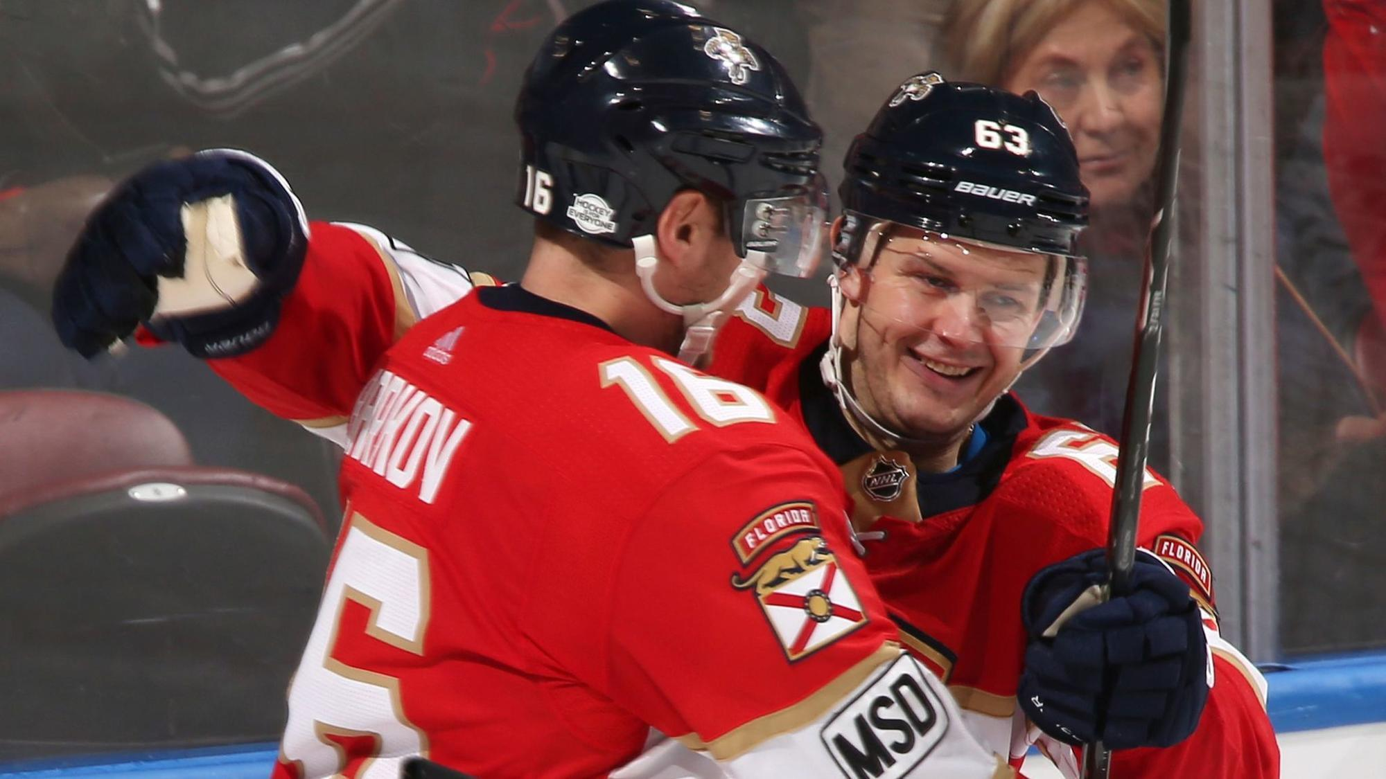 Evgenii Dadonov Notches Hat Trick As Panthers Win Roll