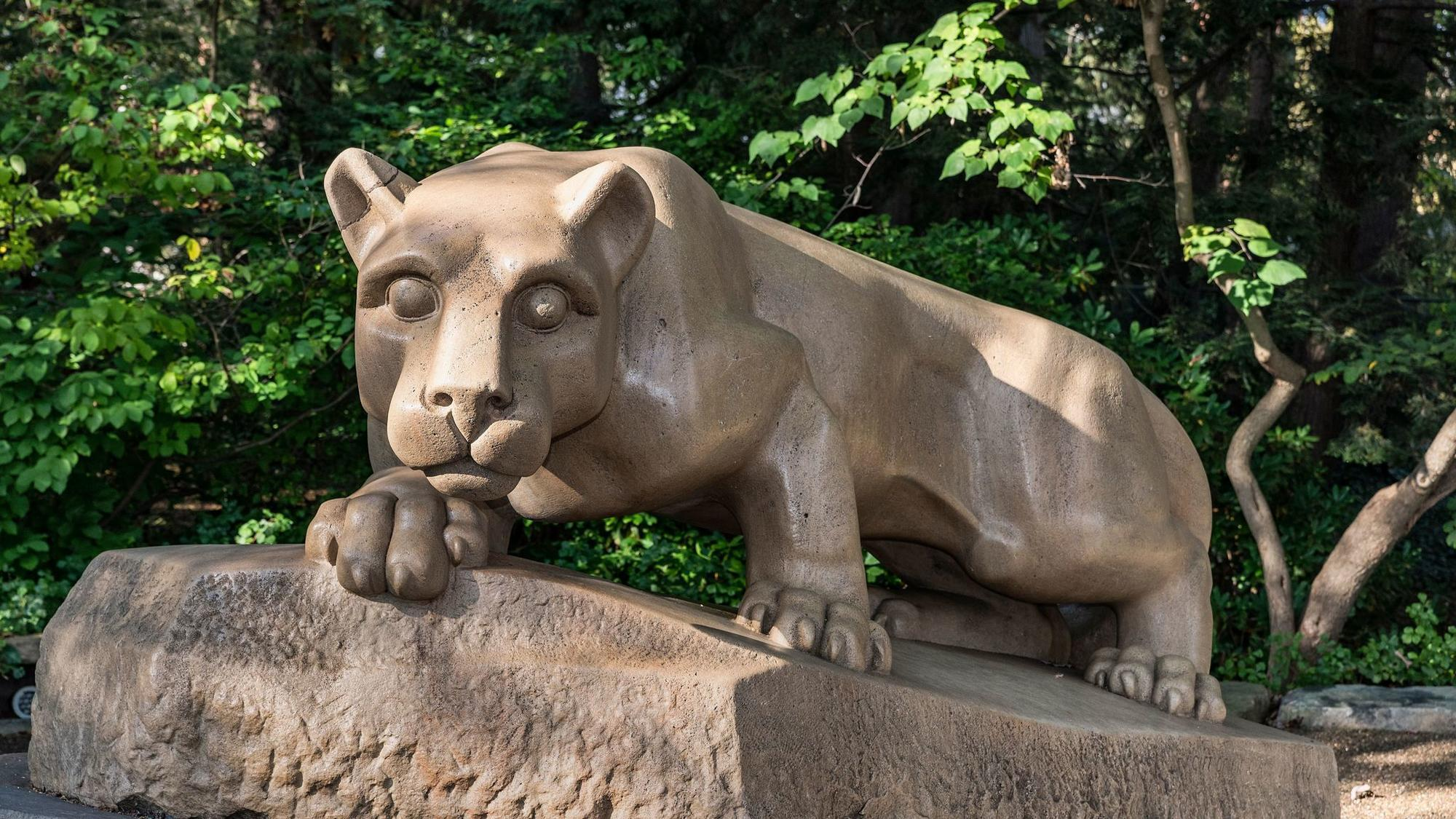 Police Investigate Damage To Nittany Lion Shrine On Penn