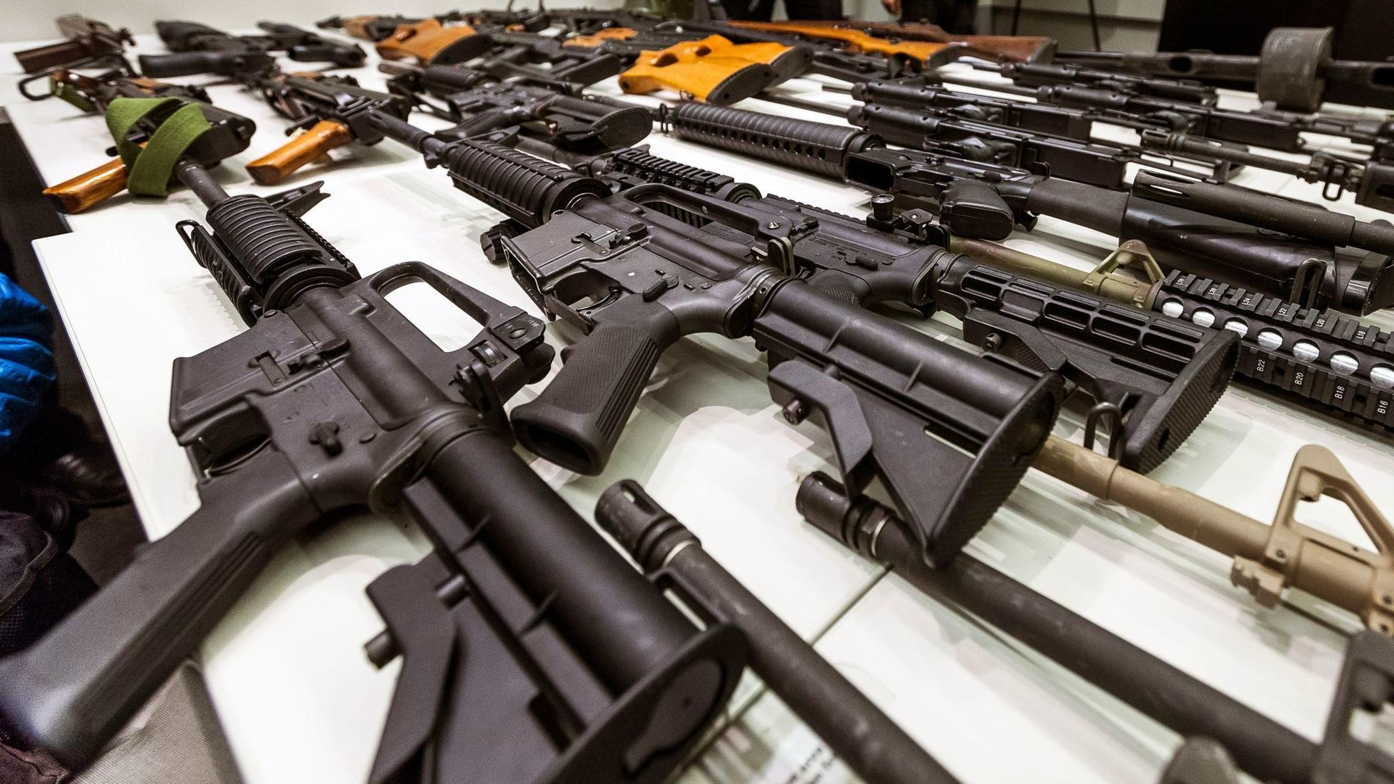Lets Build Trumps Border Wall Out Of Melted Guns Chicago Tribune How To Magnetic Gun