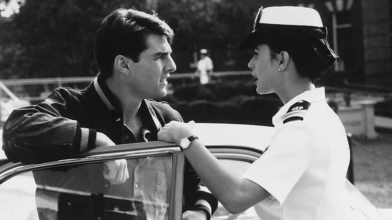 "Tom Cruise and Demi Moore in 1992's ""A Few Good Men."" (Andy Schwartz / Castle Rock)"