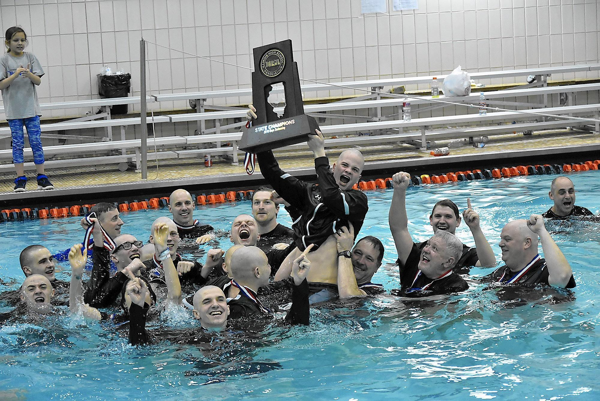 talented seniors lead new trier to title but skilled swimmers remain winnetka talk