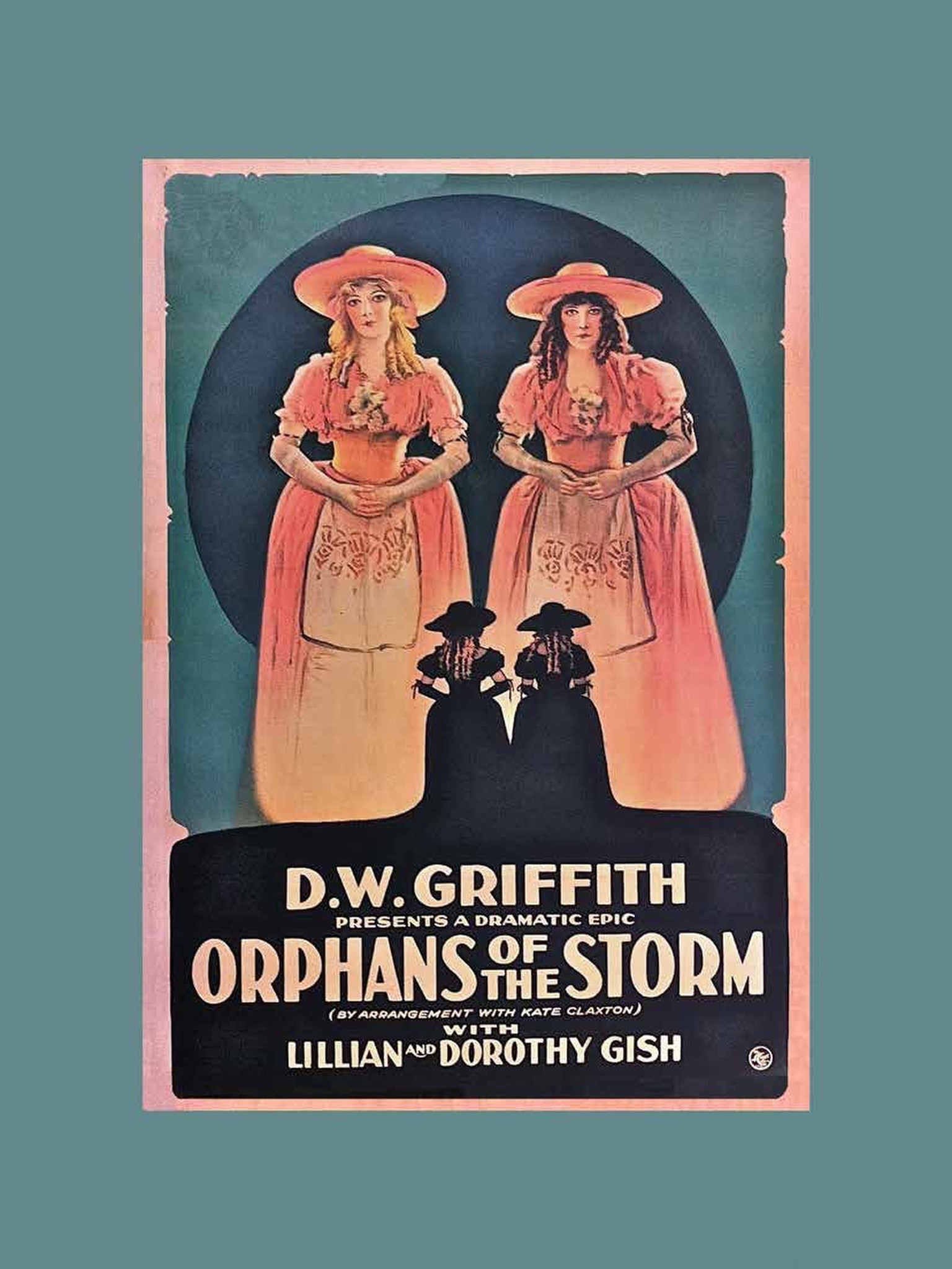 """Orphans of the Storm"" movie poster"