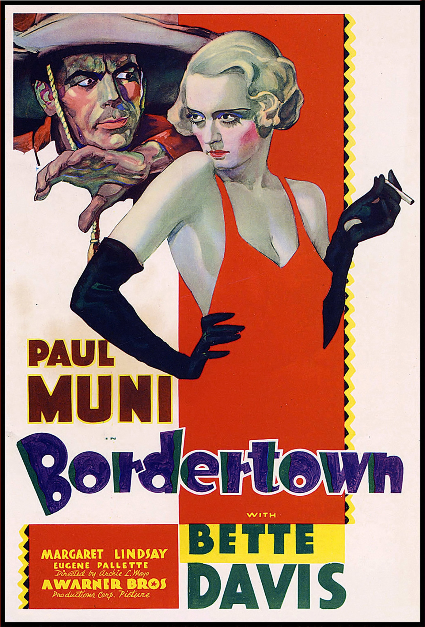 """Bordertown"" movie poster"