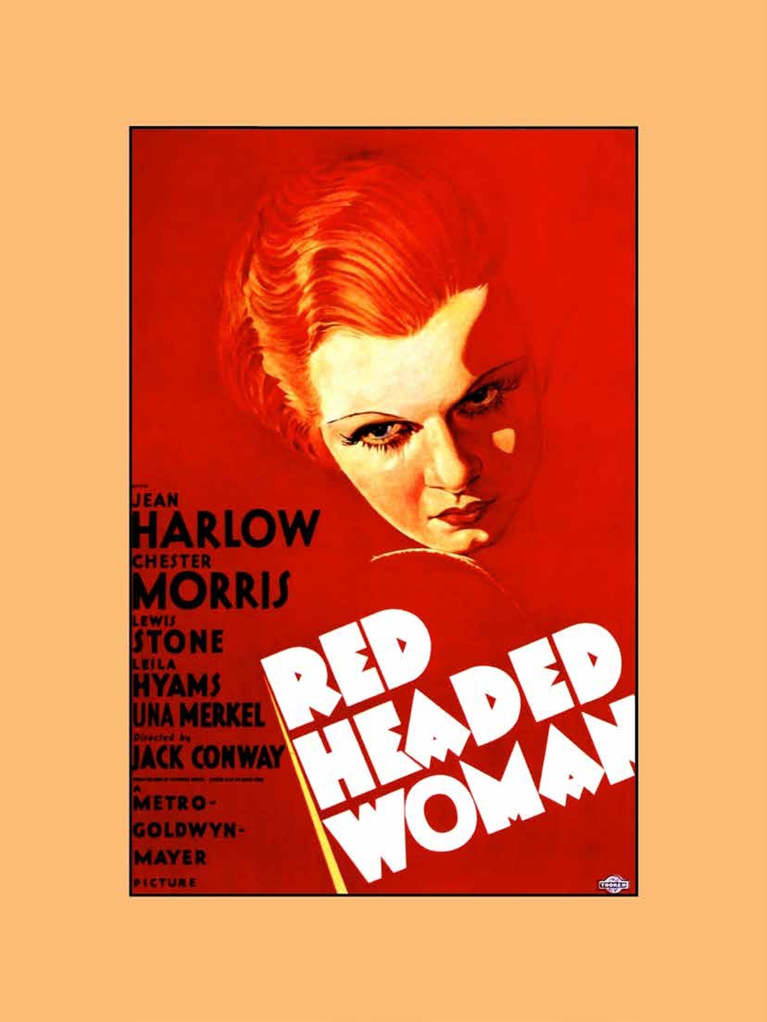 """Red-Headed Woman"" movie poster"
