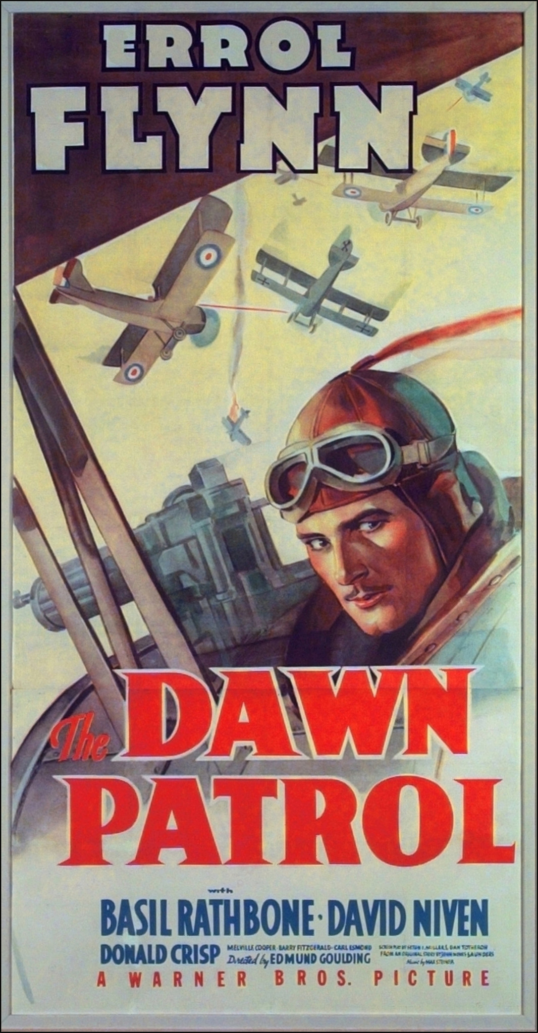 """The Dawn Patrol"" movie poster"