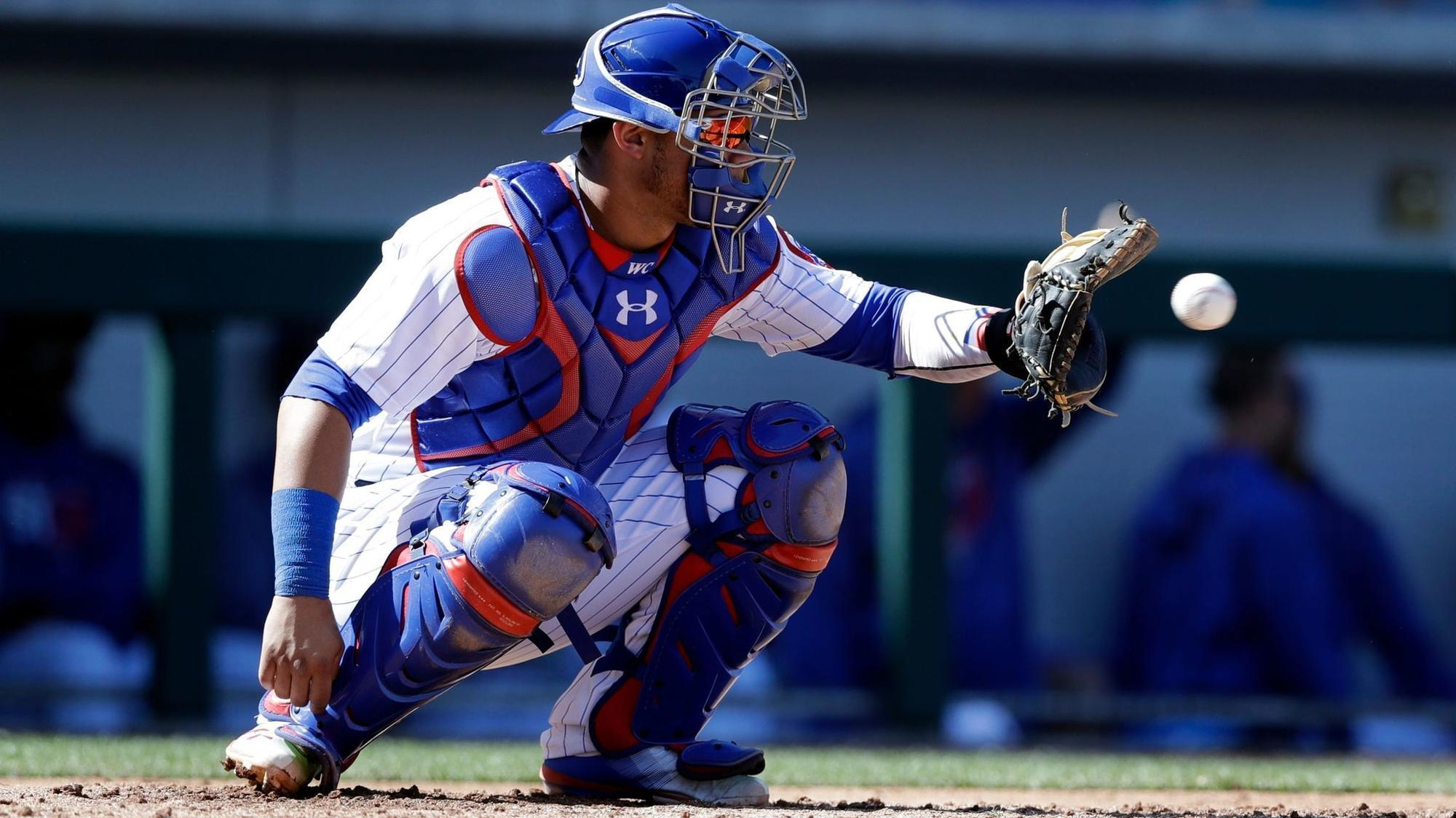 Willson Contreras working to improve pitch framing by refining his ...