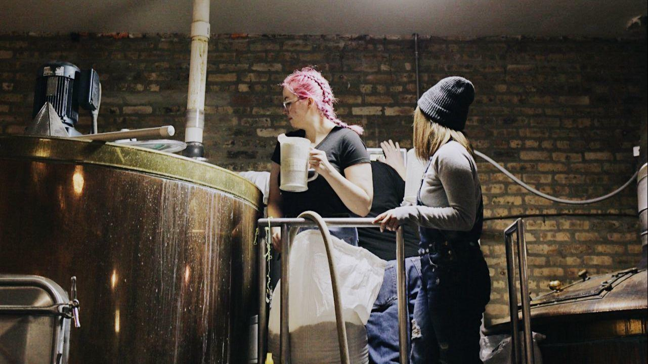 Revolution Brewing's 68 women work together to brew a beer: The Spirit of Revolt