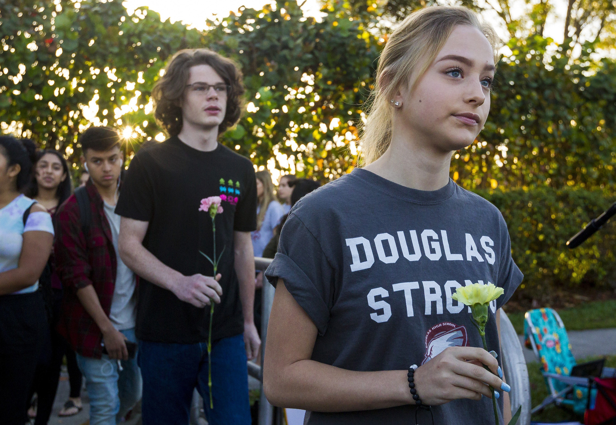 Students return to classes at Marjory Stoneman Douglas High School ...