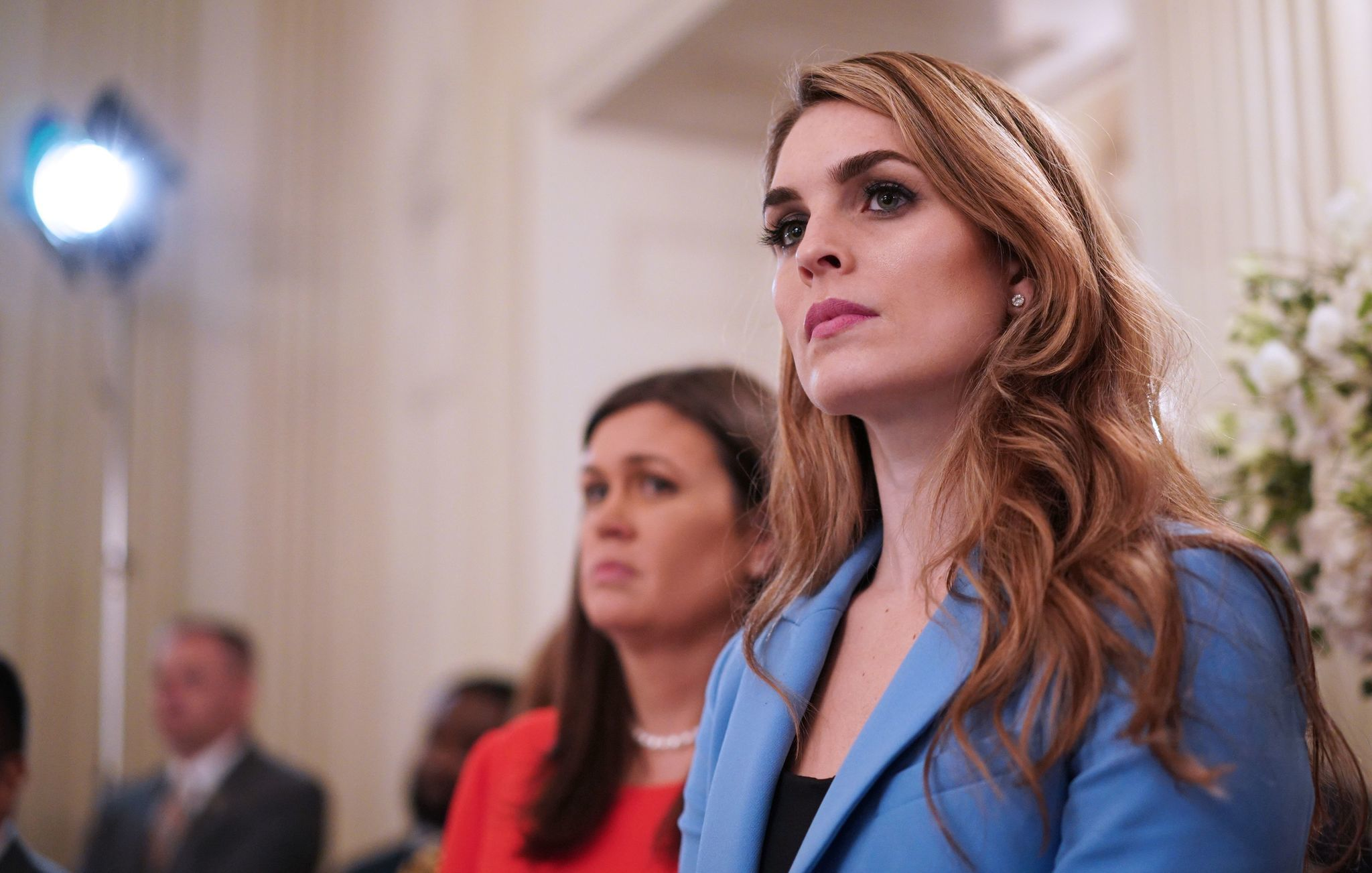 Why did Hope Hicks resign? - Chicago Tribune